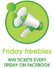 Win tickets on Facebook